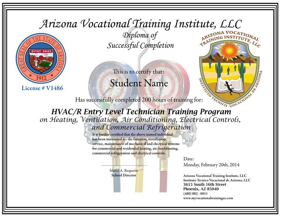 Avti Online School Of Hvac Training